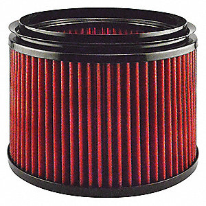 "Air Filter, Round, 11-1/2"" Height, 7"" Length, 8-7/16"" Outside Dia."