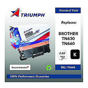Brother Toner Cartridge, No. TN660, Black