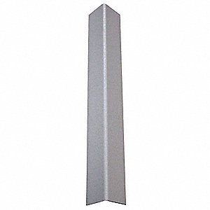 Corner Guard,Taped,1-1/2x48 in.,Gray