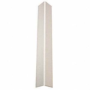 Corner Guard,Taped,1-1/2x96 in.,White