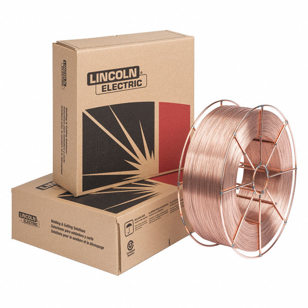 Lincoln electric 44 lb carbon steel spool mig welding for Lincoln electric motors catalog