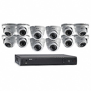 Network Video Recorder Kit, 3 TB, 16 Ch.