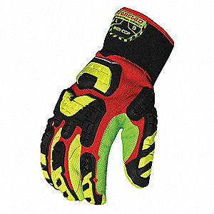 IMPACT GLOVES S GAUNTLET RED PR