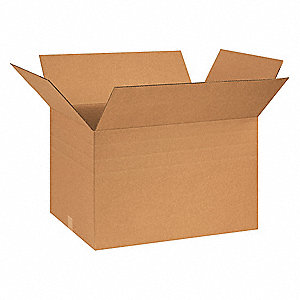 "Multidepth Shipping Carton, Kraft, Inside Width 18"", Inside Length 26"", Inside Depth 16"", 65 lb."