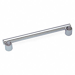 Push Handle,21 in. L x 1 in. W x 1 in. H