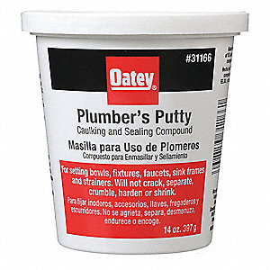 14 oz  Plumbers Putty, Beige