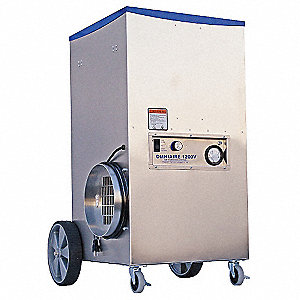 Negative Air Machine, 1 HP, 115 Voltage, 6.0 Amps, 150 to 1100 cfm