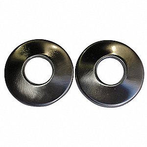 Satin Nickel Zinc Alloy Rod Flanges
