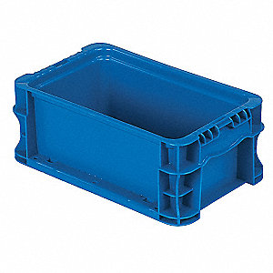 Container,Stackable,Blue