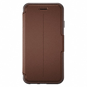 Cell Phone Case,Saddle,w/Folio Cover