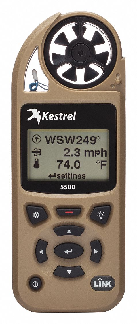 Weather Meter,  Rotating Vane,  Yes,  Yes,  118 to 7874 Velocity (FPM),  0.6 to 60 Velocity (MPS)