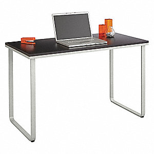 Stand-Up Workstation,47-1/4 in. W,Black