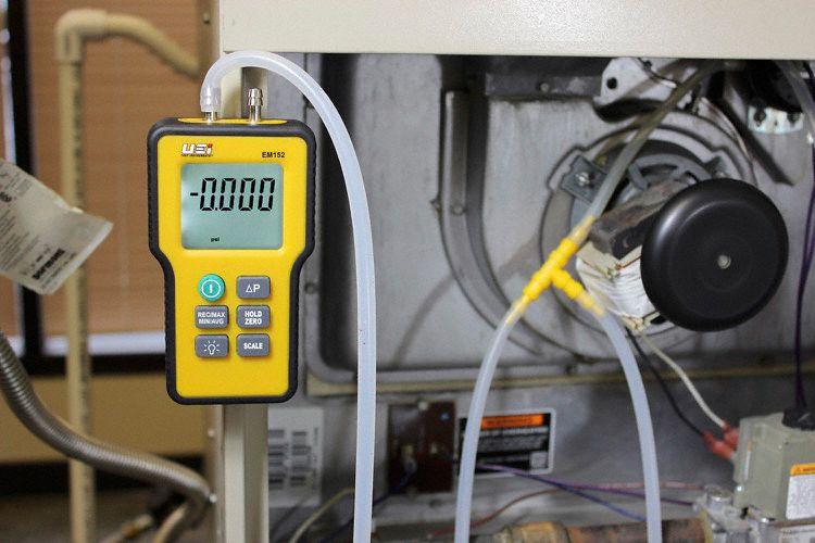 UEi Test Instruments EM152 Dual Differential Digital Manometer ...