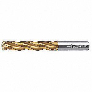 Jobber Drill,Solid Carbide,3 in. L