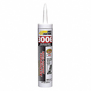 Caulk,Silicone,Cartridge,White