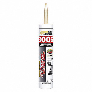 Almond Caulk, Hybrid, 10.0 oz. Cartridge