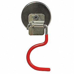 Magnet with Broom Holder,38 lb. Pull