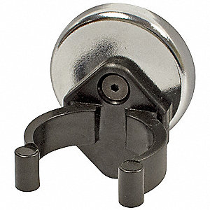 Magnet with Clip,22 lb. Pull