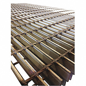 Bar Grating,Smooth,36In. W,1.5In. H