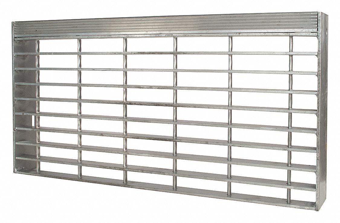Aluminum 24 Span 24 X 1.25 Serrated Bar Grating