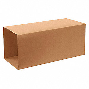 "Shipping Carton, Kraft, Inside Width 24"", Inside Length 24"", Inside Depth 40"", 65 lb., 1 EA"