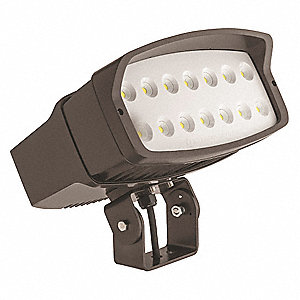 16900 Lumens LED Floodlight, Dark Bronze, LED Replacement For 400W MH
