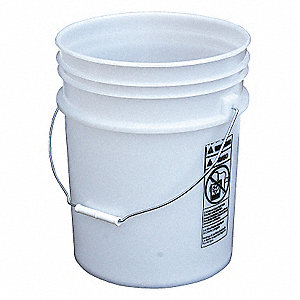 PAIL-STEEL HANDLE-NATURAL-OPEN HEAD