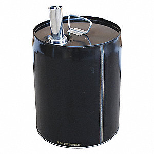 PAIL - CLOSED HEAD STEEL WITH SPOUT