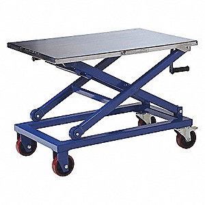 CART MECHANICAL STL SCISSOR 660LB