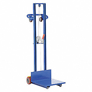 LIFT - WINCH - FIXED WHEEL 20X20