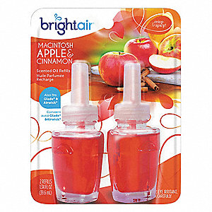 Macintosh Apple and Cinnamon Air Freshener Refill, 0.67 oz., 2PK