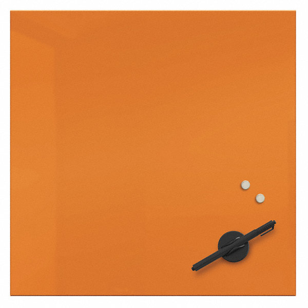 Best Rite Gloss Finish Glass Dry Erase Board Wall Mounted