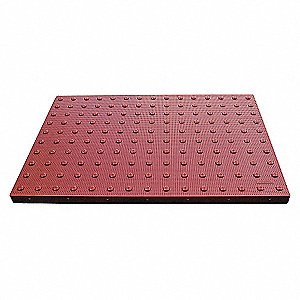 WALK PADS-ADA BRICK RED 24W X 36L