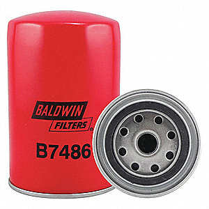 "Spin-On Oil Filter, Length: 5-29/32"", Outside Dia.: 3-13/16"""