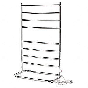 Towel Warmer,Metal,Free Standing,120V