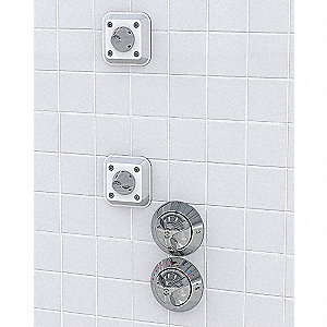 Shower System,Ligature Resistant,Satin