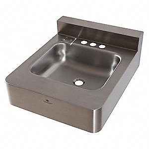 Lavatory Sink,Without Faucet,Silver