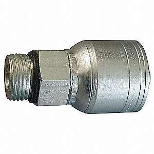 Hose,Crimp Fitting,1/2 in,-10,2.26L