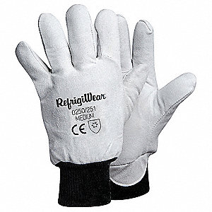 Cold Protection Gloves,XL,Gray,PR