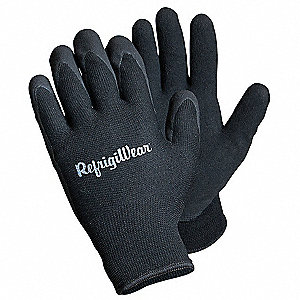 Cold Protection Gloves,XL,Black,PR