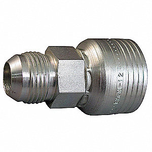 Hydraulic HoseFitting,Male JIC,5/8in,-12