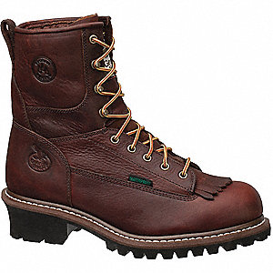 Work Boots,10,W,Brown,Steel,Men's