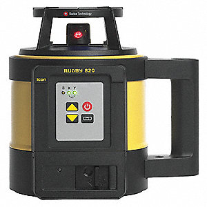 Electronic Self-Leveling Rotary Laser, Horizontal, Interior and Exterior