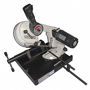 Portable Band Saw, Variable Speeds, 148 Surface Ft. per Min. High