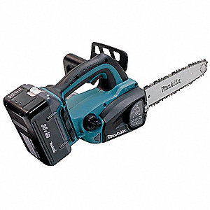 Cordless Chainsaw Kit,12 in.,36V
