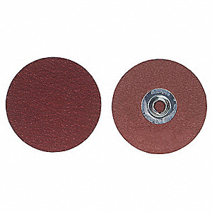 Quick Change Sand Disc,2In,240G,TS,PK100