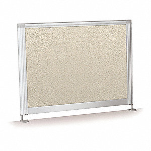 "Privacy Divider, 21-1/2"" W x 17"" H, Vinyl"