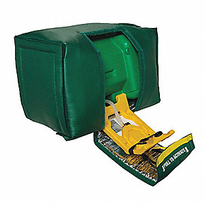 "Portable Eye Wash Station,Green,22"" W"