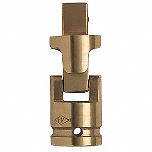 "Universal Joint, 1/4"" Drive, 1-1/4"" L"