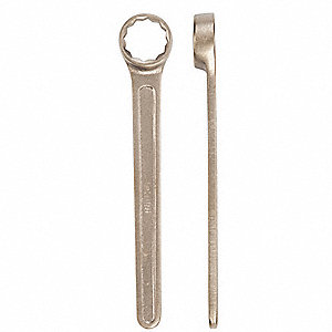 25mm, Box End Wrench, Metric, Smooth Finish, Number of Points: 12